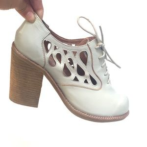 Jeffrey Campbell Drips Heel Ankle booties Shoes